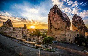 گزارش تصویری از شهر Cappadocia  (دودکش ها ) در ترکیه