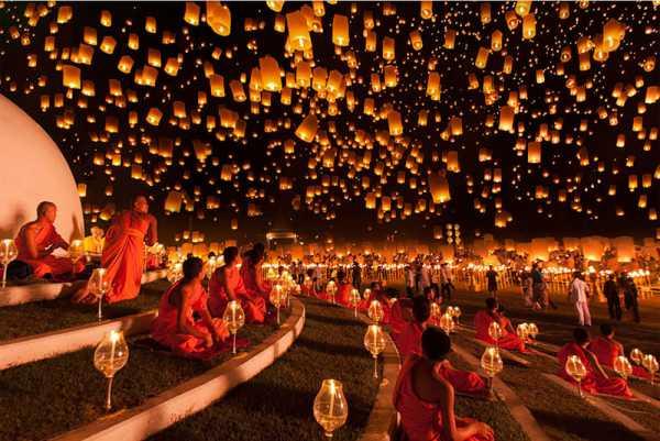 جشن فانوس ها در تایلند