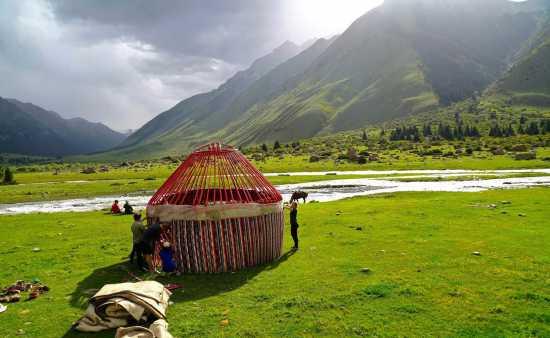 جاذبه های قرقیزستان