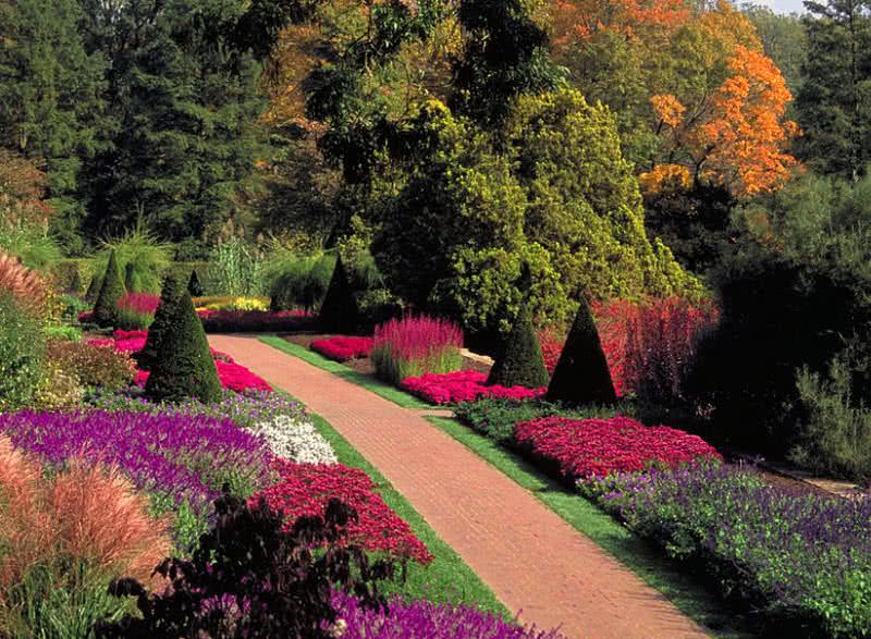 زیباترین باغ های دنیا