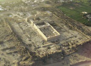 ۱۰ سازه بزرگ مصر باستان