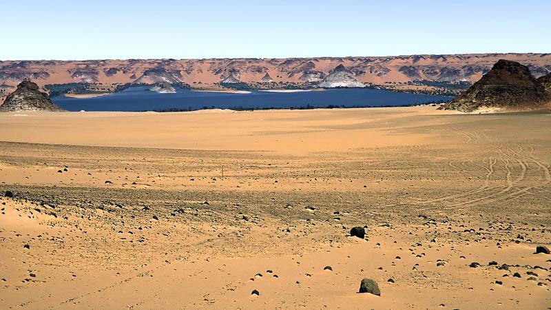 دریاچه سودا کشور چاد