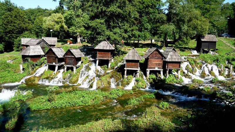 watermills jajce preview - بهترین مکان های دیدنی بوسنی و هرزگوین