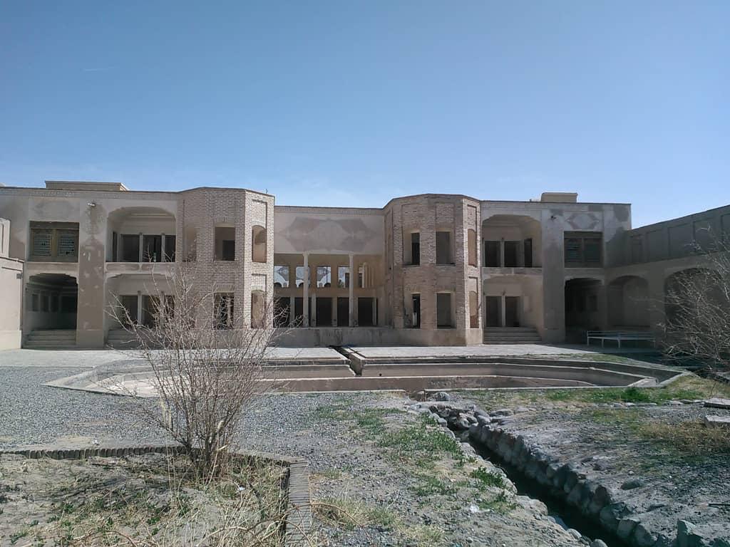 عمارت موسی خانی شهر بابک